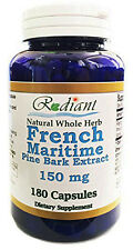 Labor Day Sale! French Maritime Pine Bark Extract 150mg 180 Capsules