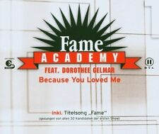Fame Academy (RTL 2; 2003) Because you loved me (feat. Dorothee Gelm.. [Maxi-CD]