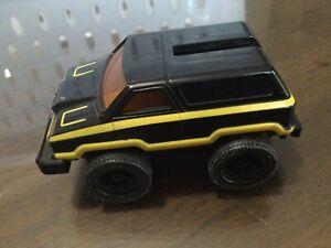 Voltron Vintage Piece Part Vehicle Foot Bandai Japan 1984 Black Yellow