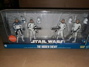 Star Wars Clone Wars The Hidden Enemy Battle Pack UK Exclusive MISB