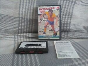 Zx Spectrum 48k - footballer of the year - Gremlin - tested /working free UK P&P