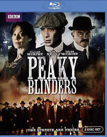 Peaky Blinders [Blu-ray] -2 Disc Set - BBC- Brand New Sealed - Rare and Unique