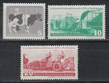 DDR East Germany 1958 ** Mi.628/30 Landwirtschaft Agriculture