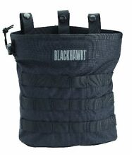 Blackhawk 37CL117BK Black Roll-up MOLLE Dump Pouch w/ Elastic Loops
