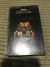 WINGS PAUL MCCARTNEY SPANISH CASSETTE TAPE SPAIN BACK TO THE EGG BEATLES SEALED