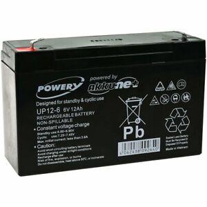 Batterie gel Powery pour vehicle pour enfant, voiture pour enfant, quad pour