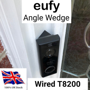 Eufy Angle Wedge 30 / 45 Degrees Mount Bracket for WIRED Video Doorbell T8200