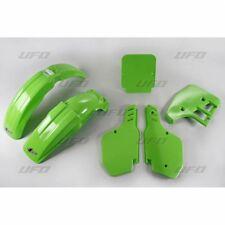 New Kawasaki EVO KX 125 1988 88 Colour Green Plastic Kit Plastics