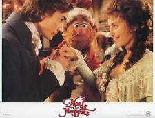 FOZZIE BEAR THE MUPPETS CHRISTMAS CAROL 1992 VINTAGE LOBBY CARD ORIGINAL #4