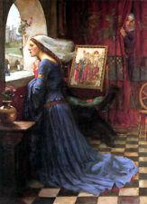 "J. W. WATERHOUSE - Fair Rosamund - *FRAMED* CANVAS ART - 24x16"""