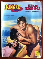 """JUNGLE FILM n°1 du 1/02/1960; """"L'île sans tabou"""", John Weissmuller, Brenda Joyce"""