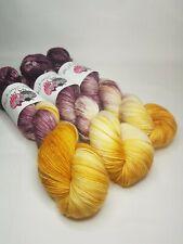 SW Merino Alpaca Nylon yarn, 4-ply, fingering weight, 100g, MULLED WINE