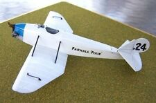 Parnall Pixie II Lightplane Racer Aircraft Mahogany Wood Model Small New