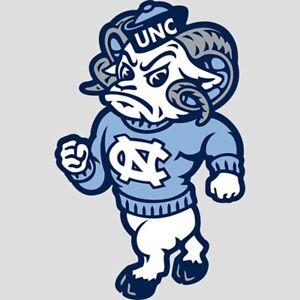North Carolina Tarheels Mascot Embroidered Mens Polo XS-6XL, LT-4XLT New