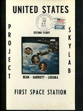 US Postal History Space Skylab III 2nd Manned Flight Launch 1973 Canaveral FL