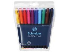 Schneider Topliner 967 Fineliner im 10er Etui