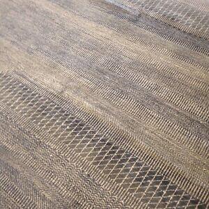 Spectacular Hand Knotted Tibetan Rug Wool Fine Texture  5'x 7 ' Modern Rare