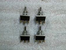 mcgill spdt momentary toggle switches 1hp 20a 125vac 10a 250vac lot of 4