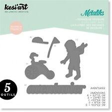 """Metaliks """"Kesi`Art""""  Stanzform Buchstaben Abenteurer Junge Kind Dies"""