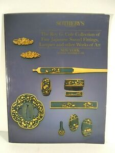 1990 Sotheby's Japanese Sword and Other Art Auction Catalog -- Cole Collection