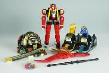 Power Rangers Red Dragon Thunderzord + Assault Team Toy Set Mighty Morphin