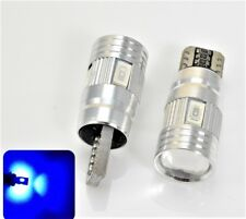 License Plate Light T10 168 194 2825 12961 LED Blue Canbus Bulbs K1 For BMW K