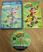 Crash Twinsanity Sony PlayStation 2 PS2 Game Complete with Manual - Free P&P