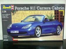Revell Kit di Montaggio 1:24 7343 Porsche 911 CARRERA Cabrio MIB, 1999