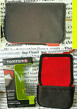 """TOMTOM UNIVERSAL CARRY CASE 5"""" 13CM X GPS NAVIGATORE 9UUA.001.43 5UUA.001.51"""