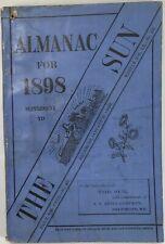 Baltimore Sun Maryland Almanac 1898