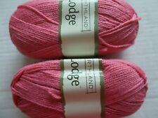 Northland Lodge wool blend yarn, Field Rose, lot of 2 (228 yds each)