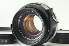 """Yr. 1977 """" Near MINT """" Leica Summilux-M 35mm f1.4 CANADA From Japan"""