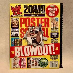 WWE: 20 Giant Posters Blowout! Collection