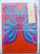 """Rare et fragile gadget du PIF-GADGET n° 40 """" Le puzzle Papillon"""" - décembre 1969"""