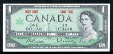 "BC-45a 1967 $1 ONE DOLLAR ""CENTENNIAL ISSUE"" BANK OF CANADA GEM UNC"