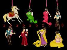 Takara Tomy Disney RAPUNZEL TANGLED figure strap gashapon (full set of 8 figures