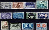 ITALIA REPUBBLICA 1950-51 - Selezione del periodo - Linguellati - MH