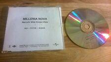 CD Pop Millenia Nova - Narcotic Wide Screen Vista (11 Song) Promo ISLAND sc