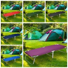 Camping Patio Portable Sleeping Folding Bed Cots Beach Pool Travel Sun+ Free Bag