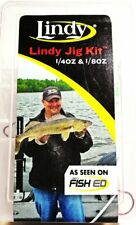 Lindy 18 piece Jig Kit 1/4 oz. & 1/8 oz. Jigs