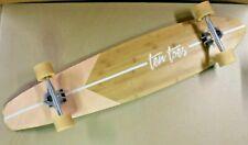 "Ten Toes Bamboo Longboard 44"" Long Skateboard Deck Board COMPLETE EXCELLENT"