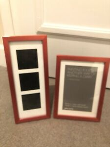 Red Picture Frames From John Lewis, Set Of 2