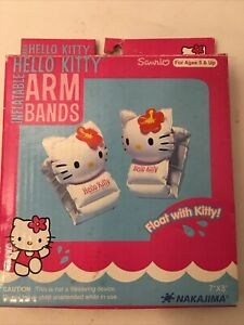 Hello Kitty Inflatable Arm Bands Ages 3+ New