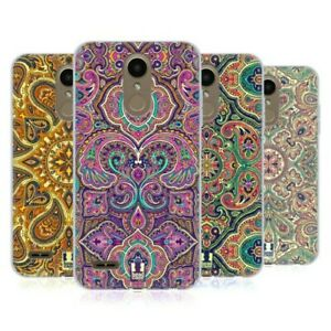 HEAD CASE DESIGNS INTRICATE PAISLEY SOFT GEL CASE & WALLPAPER FOR LG PHONES 1