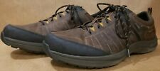 Dunham Men's US Size 16 4E Seth Waterproof Lace-Up Oxford Brown Shoes