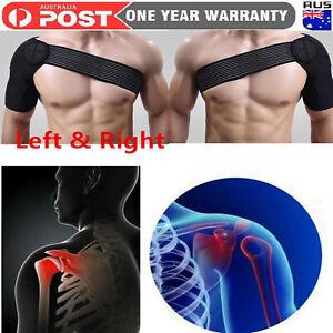 NEW Adjustable Neoprene Shoulder Support Brace Strap Belt For Pain Relief Sling