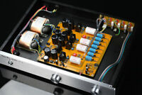 Finished Hi-end Single-ended class A FET preamplifier base on Pass 2.0 preamp