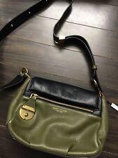 Authentic Marc Jacobs Women's Black The Standard Mini Leather Shoulder/crossbody