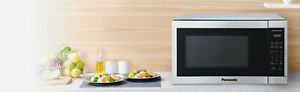 Panasonic 1.3CuFt Stainless Steel Countertop Microwave NN-SC668S plus COVER