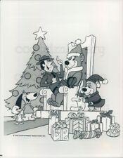 1982 Press Photo Yogi Bear All Star Comedy Christmas Caper Hanna Barbera TV